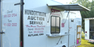 hundertmark auction clerk trailer