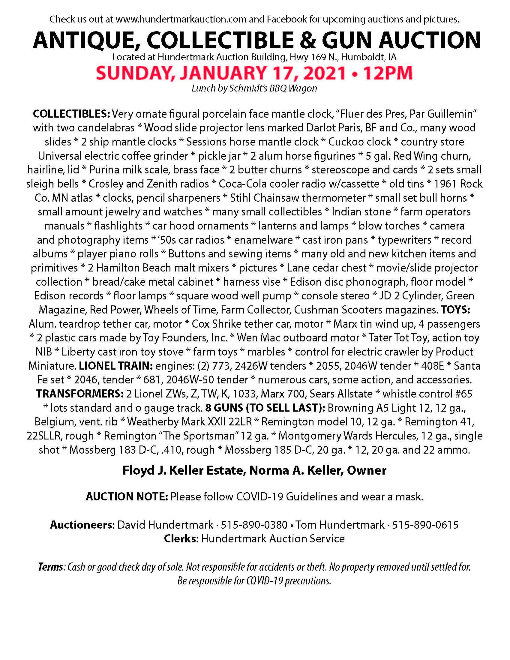 Hundertmark Keller 1-17-21